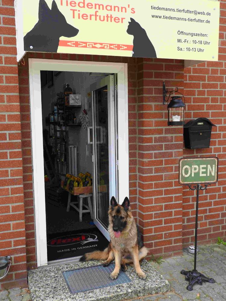 Der Laden ist geöffnet